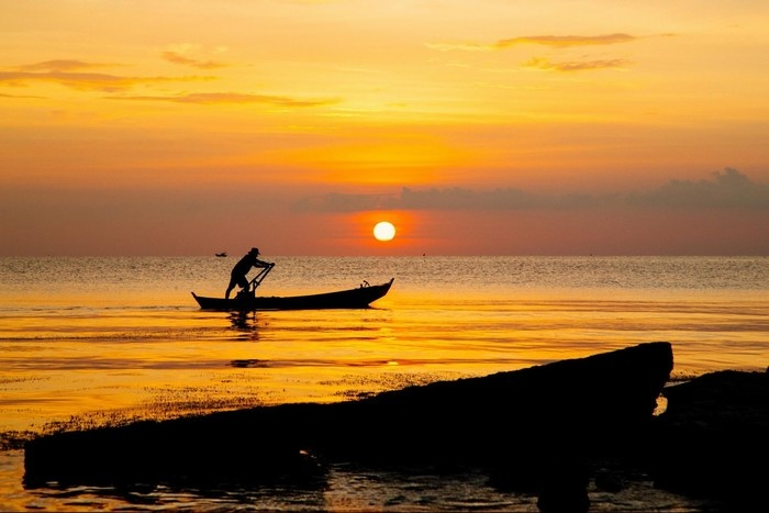Cuối ngày của những ngư dân trên đảo Phú Quốc