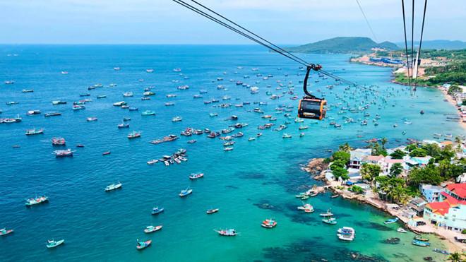 """Cáp treo Hòn Thơm hút lượng lớn khách tới Đảo Ngọc phú quốc - 864882a95a5a6e362e42294dca692403 - Để soán """"ngôi vương"""" du lịch, Phú Quốc đang chuẩn bị gì?"""