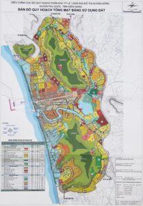 Bản đồ quy hoạch thị trấn Dương Đông Phú Quốc