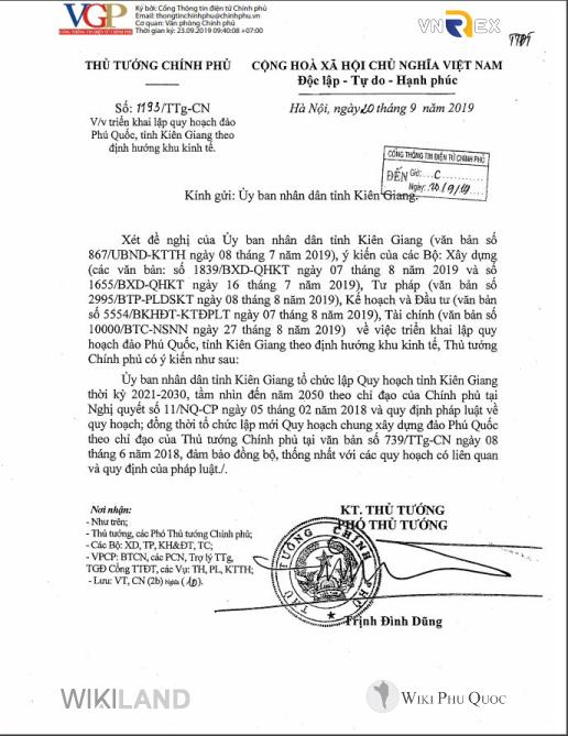 Công-văn-số-1193TTg-CN-của-Thủ-tướng-Chính-phủ--Vv-chủ-trương-lập-Quy-hoạch-đảo-Phú-Quốc,-tỉnh-Kiên-Giang-theo-định-hướng-Đơn-vị-hành-chính---Kinh-tế-đặc-biệt Đảo ngọc phú quốc được quy hoạch thành đặc khu kinh tế - Công-văn-số-1193TTg-CN-của-Thủ-tướng-Chính-phủ-Vv-chủ-trương-lập-Quy-hoạch-đảo-Phú-Quốc-tỉnh-Kiên-Giang-theo-định-hướng-Đơn-vị-hành-chính-Kinh-tế-đặc-biệt - Đảo ngọc Phú Quốc được quy hoạch thành đặc khu kinh tế