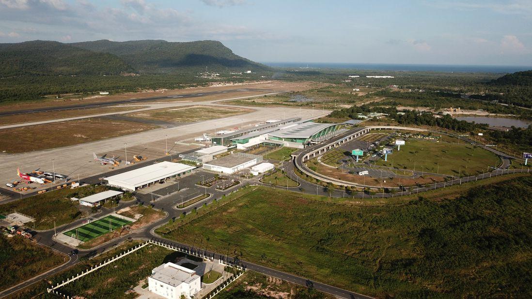 Cảng hàng không quốc tế Phú Quốc.