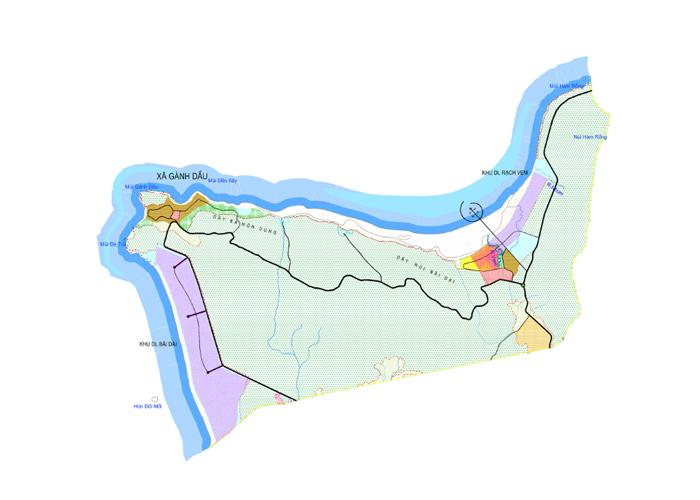 Bản đồ quy hoạch khu đô thị Gành Dầu - Phú Quốc bãi gành dầu - ban-do-quy-hoach-khu-do-thi-ganh-dau-phu-quoc - Bãi Gành Dầu – nơi địa đầu của đảo ngọc Phú Quốc