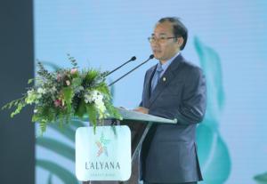 Ông Phùng Chu Cường – Tổng giám đốc Phú Long chia sẻ về dự án.  - Ông-Phùng-Chu-Cường-–-Tổng-giám-đốc-Phú-Long-chia-sẻ-về-dự-án - Phú Long ra mắt quần thể nghỉ dưỡng tại Phú Quốc
