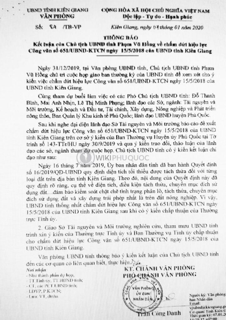 Kết luận của chủ tịch Phú Quốc về chấm dứt hiệu lực công văn số 651-UBND tỉnh Kiên Giang chấm dứt hiệu lực công văn 651 - Kết-luận-của-chủ-tịch-Phú-Quốc-về-chấm-dứt-hiệu-lực-công-văn-số-651-UBND-tỉnh-Kiên-Giang-723x1024 - Tỉnh Kiên Giang đã đưa ra văn bản chấm dứt hiệu lực công văn 651 về việc cấm phân lô, tách thửa tại Phú Quốc phú quốc - K%E1%BA%BFt-lu%E1%BA%ADn-c%E1%BB%A7a-ch%E1%BB%A7-t%E1%BB%8Bch-Ph%C3%BA-Qu%E1%BB%91c-v%E1%BB%81-ch%E1%BA%A5m-d%E1%BB%A9t-hi%E1%BB%87u-l%E1%BB%B1c-c%C3%B4ng-v%C4%83n-s%E1%BB%91-651-UBND-t%E1%BB%89nh-Ki%C3%AAn-Giang-723x1024 - WIKI PHU QUOC || ✅ Trang tin tức Đảo Ngọc Phú Quốc.