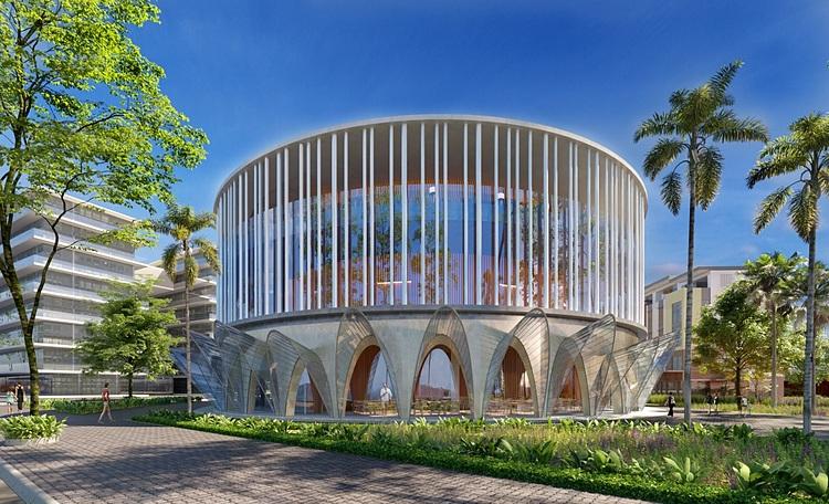 Trung tâm tổ chức sự kiện sẽ là nơi diễn ra các hoạt động quan trọng của Phú Quốc.  - yeu-to-giup-meyhomes-capital-phu-quoc-noi-bat-giua-dao-ngoc_5f1a434305a69 - Yếu tố giúp Meyhomes Capital Phú Quốc nổi bật giữa đảo Ngọc