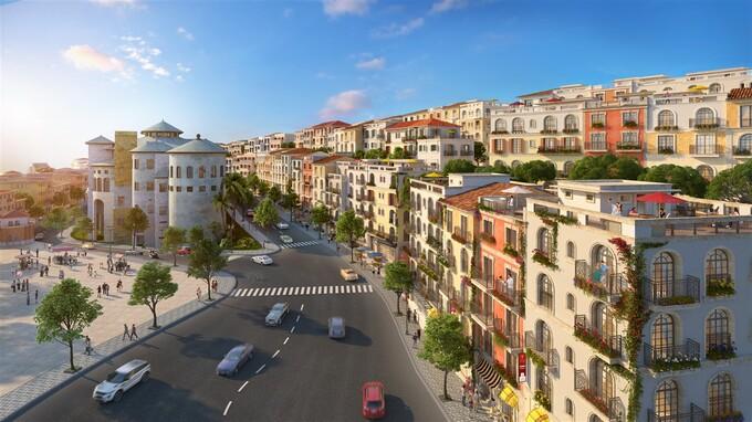 Phối cảnh một góc dự án thị trấn Địa Trung Hải. Ảnh: Sun Group. - WikiLand  - bds-phu-quo-c-mo-i-dang-o-giai-7621-6404-1617188380 - Tiềm năng tăng giá của Địa ốc Nam Phú Quốc