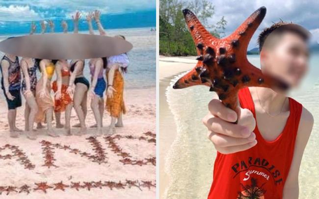 """Từ vụ sao biển chết khô ở Phú Quốc: Dân mạng tiếp tục đào thêm hàng loạt hình sống ảo đầy """"tội lỗi"""" của du khách  - photo1617846335547-16178463356251430488737-1 - Từ vụ sao biển chết khô ở Phú Quốc: Dân mạng tiếp tục đào thêm hàng loạt hình sống ảo đầy """"tội lỗi"""" của du khách"""