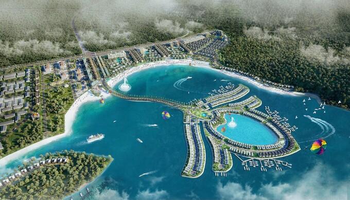Phối cảnh phân khu đảo hoa sen nhân tạo tại dự án Selavia. Ảnh: TTC Phú Quốc. - WikiLand  - salavia-1-1620617128-1555-1620617298 - Khu phức hợp Selavia hơn chục nghìn tỷ tại Phú Quốc