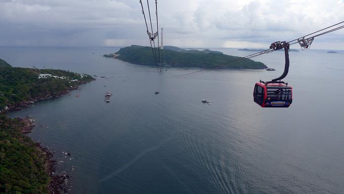 Du lịch cáp treo tại nam đảo Phú Quốc. Ảnh: Dương Đông - WikiLand  - phu-quoc-1-9175-1624863268 - Khách Nga sẽ được ưu tiên vào Phú Quốc