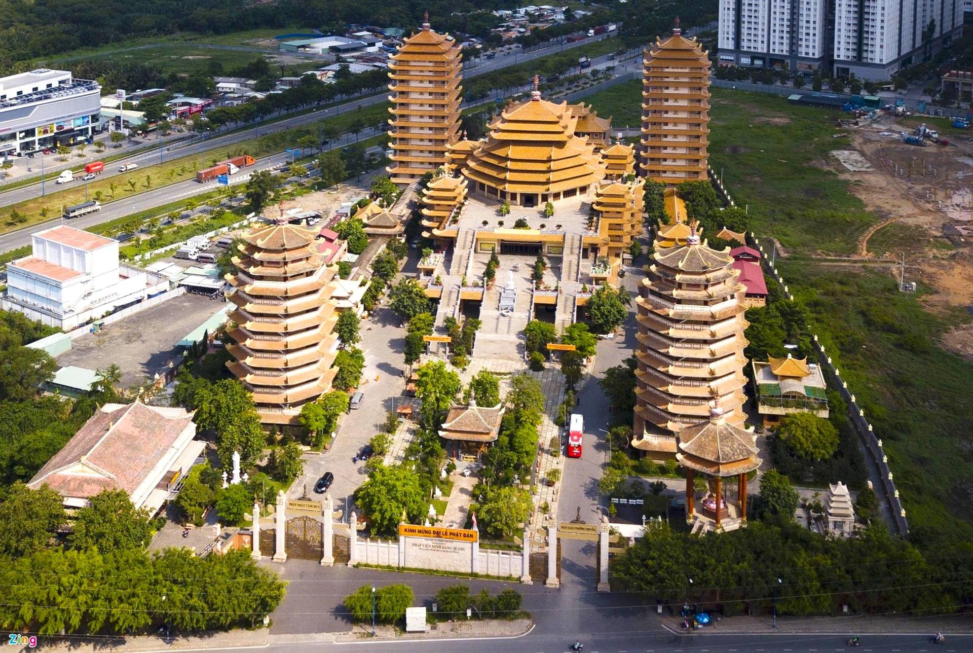 Nhung ngoi chua noi tieng Viet Nam anh 2  - tinh_xa_2_min - Loạt tháp chùa đạt kỷ lục ở Việt Nam