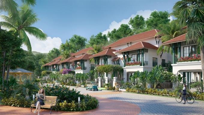 Ảnh minh họa Sun Tropical Village - ngôi làng nhiệt đới giữa thiên nhiên Nam Phú Quốc. - WikiLand  - sun1-4387-1632381643 - 97% biệt thự Sun Tropical Village đợt 1 được đăng ký đặt chỗ